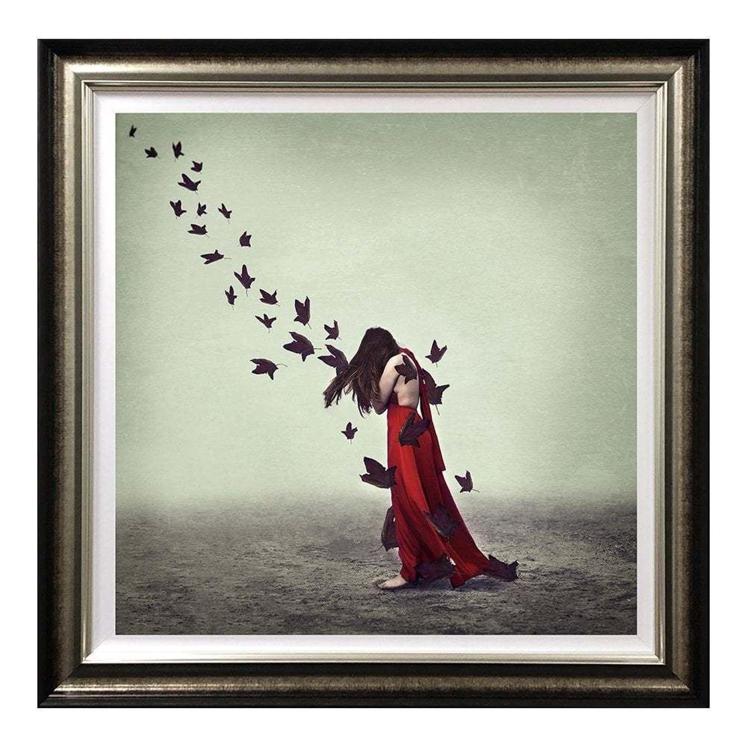 Release - Framed Art Print  by Michelle Mackie