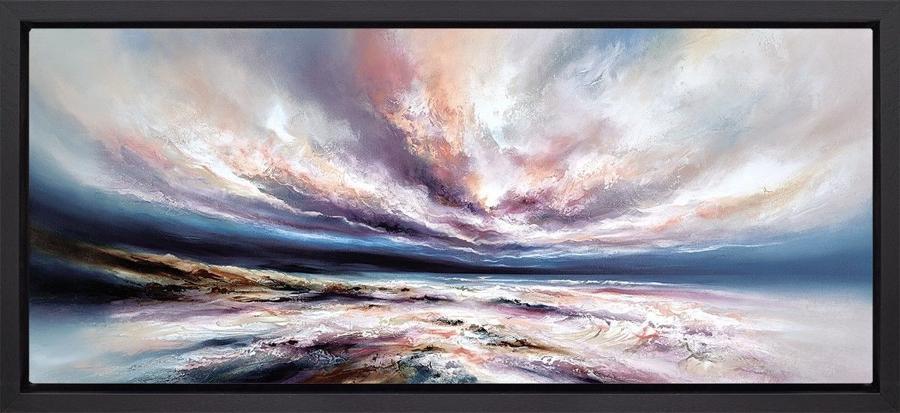Infinite Seas Framed Art Print by Chris and Steve Rocks