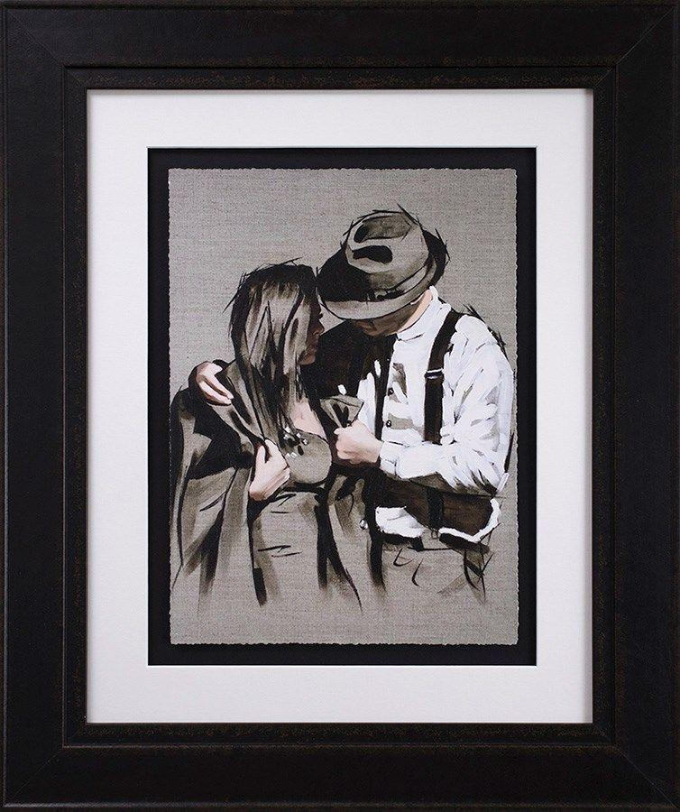 The Gentleman Framed Art Print by Richard Blunt