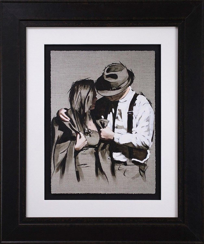 The Gentleman Framed Art Print by Richard Blunt