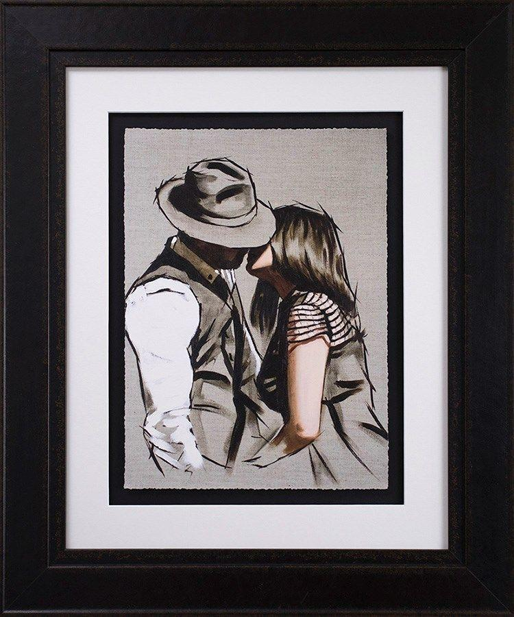 This Love II Framed Art Print by Richard Blunt