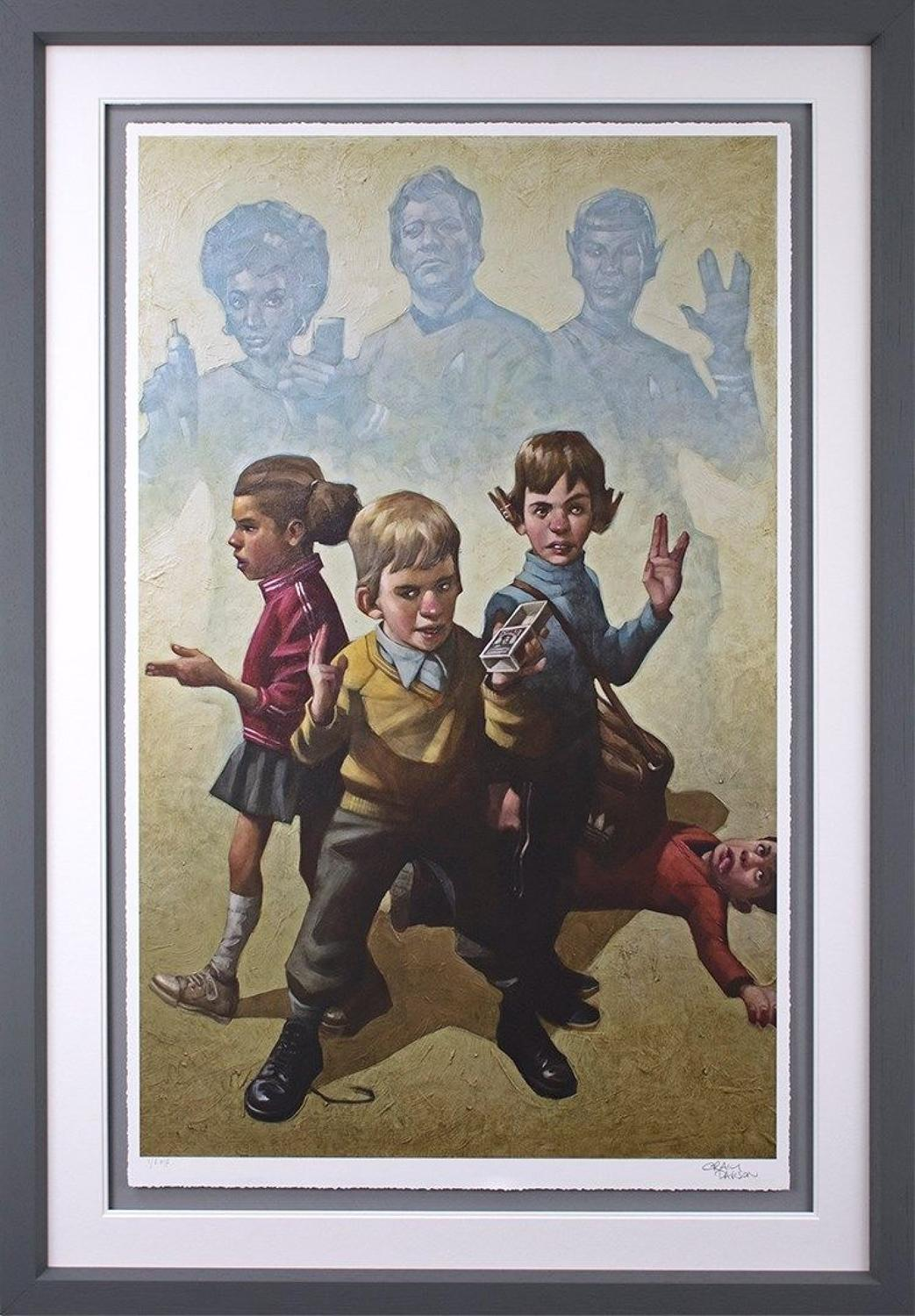Phasers to Stun - Framed Art Print by Craig Davison