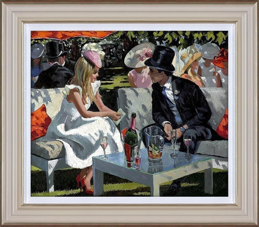 Ascot Glamour - Framed Art Print by Sherree Valentine Daines