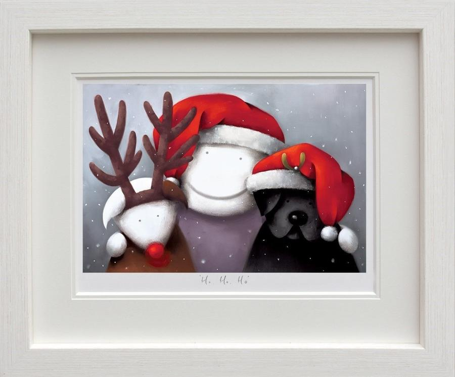 Ho Ho Ho - Framed Art Print by Doug Hyde