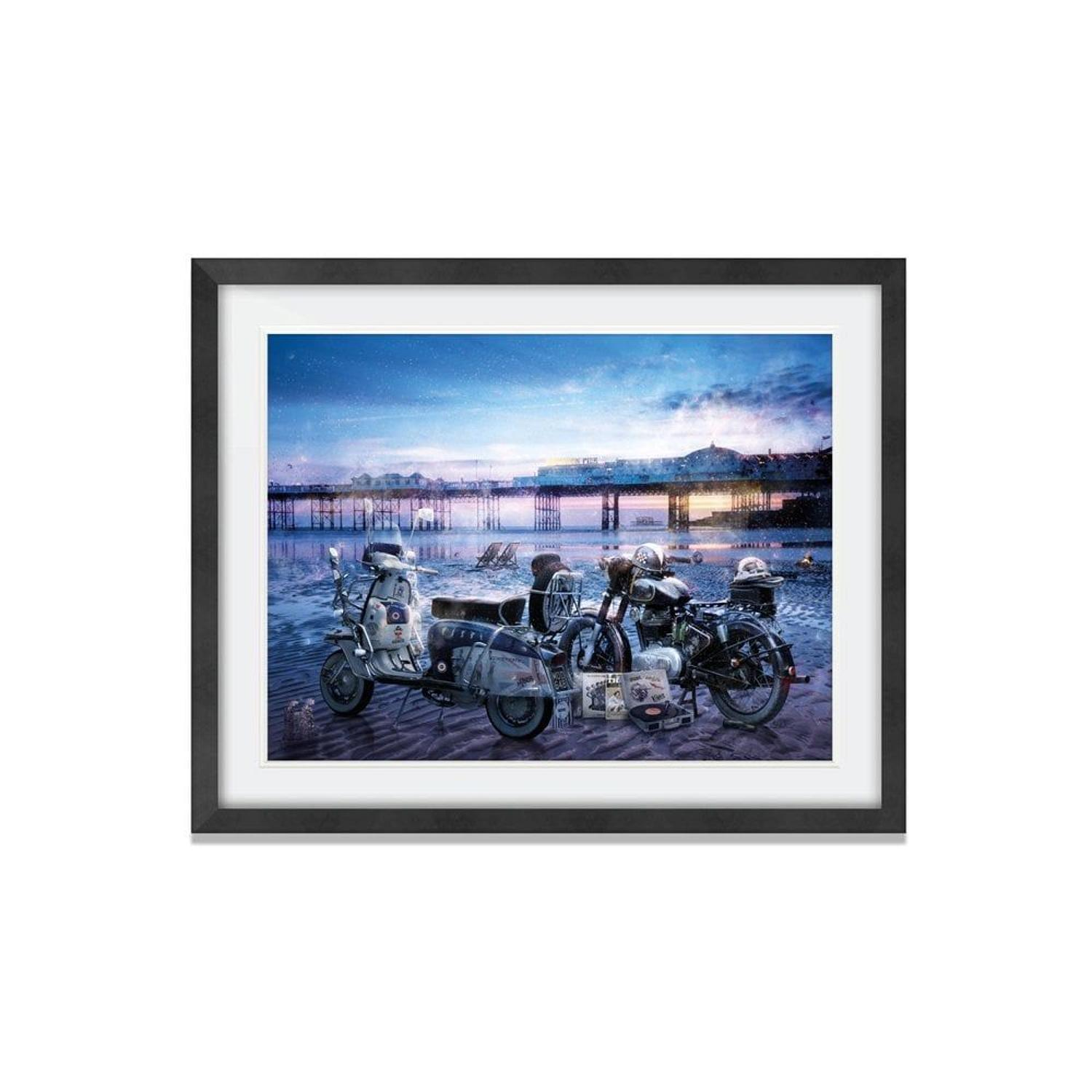 A Way Of Life - Framed Art Print by Mark Davies