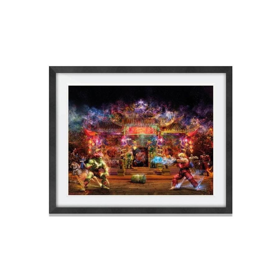 Hadouken! - Framed Art Print by Mark Davies