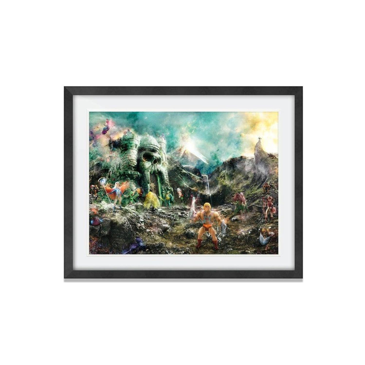 I Have The Power - Framed Art Print by Mark Davies