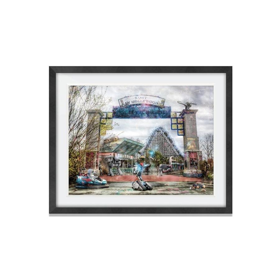 Rise Of The Machines - Framed Art Print by Mark Davies