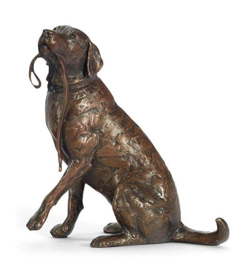 Anticipation By Michael Simpson - Bronze Sculpture