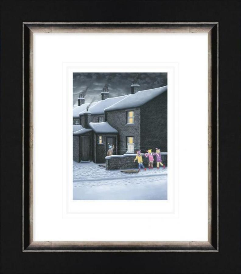 A Parting Shot - Framed Paper Art Print by Leigh Lambert