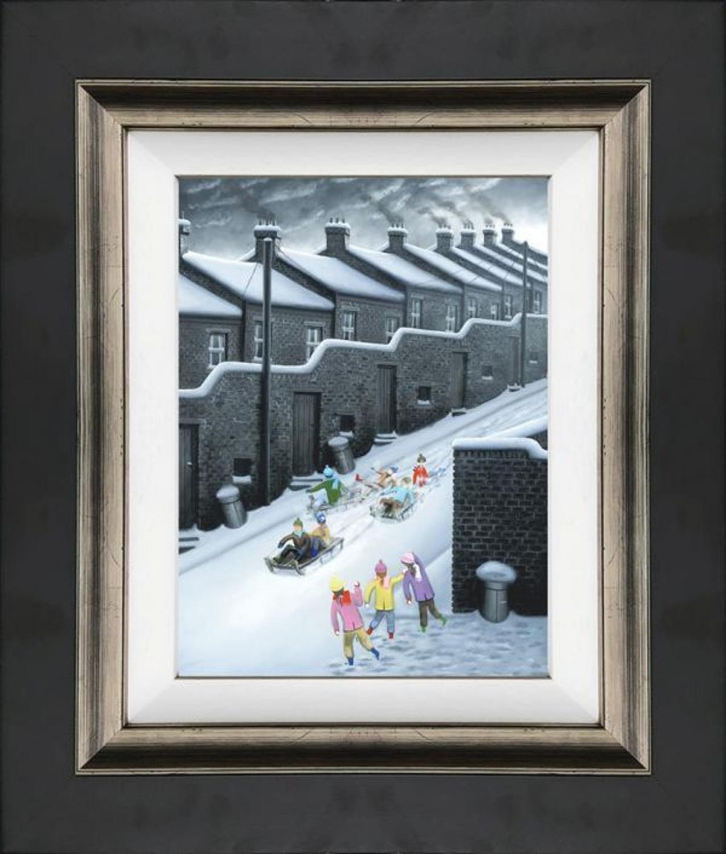 Fire At Will - Framed Canvas Art Print by Leigh Lambert