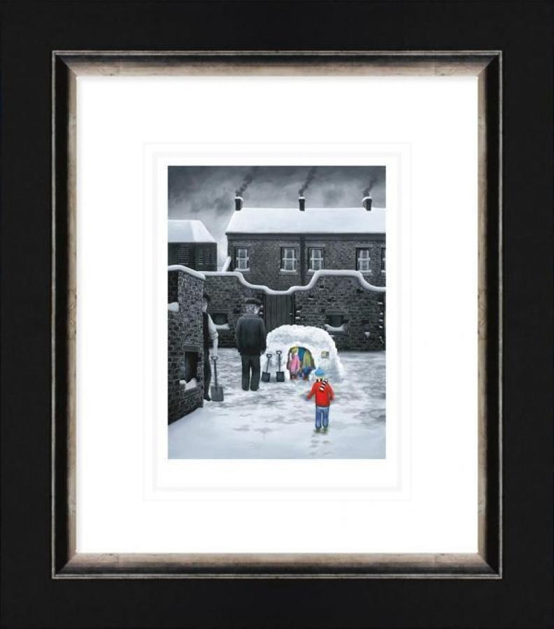 Room For One More - Framed Paper Art Print by Leigh Lambert