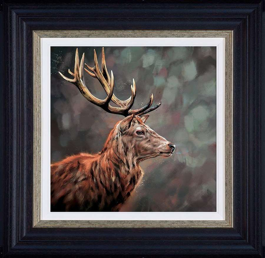 Lord and Master - Framed  Art Print by Debbie Boon