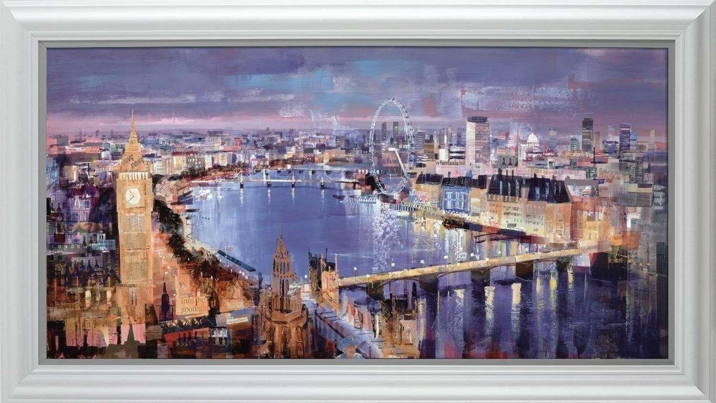 Twilight Magic Canvas Framed Art Print by Tom Butler