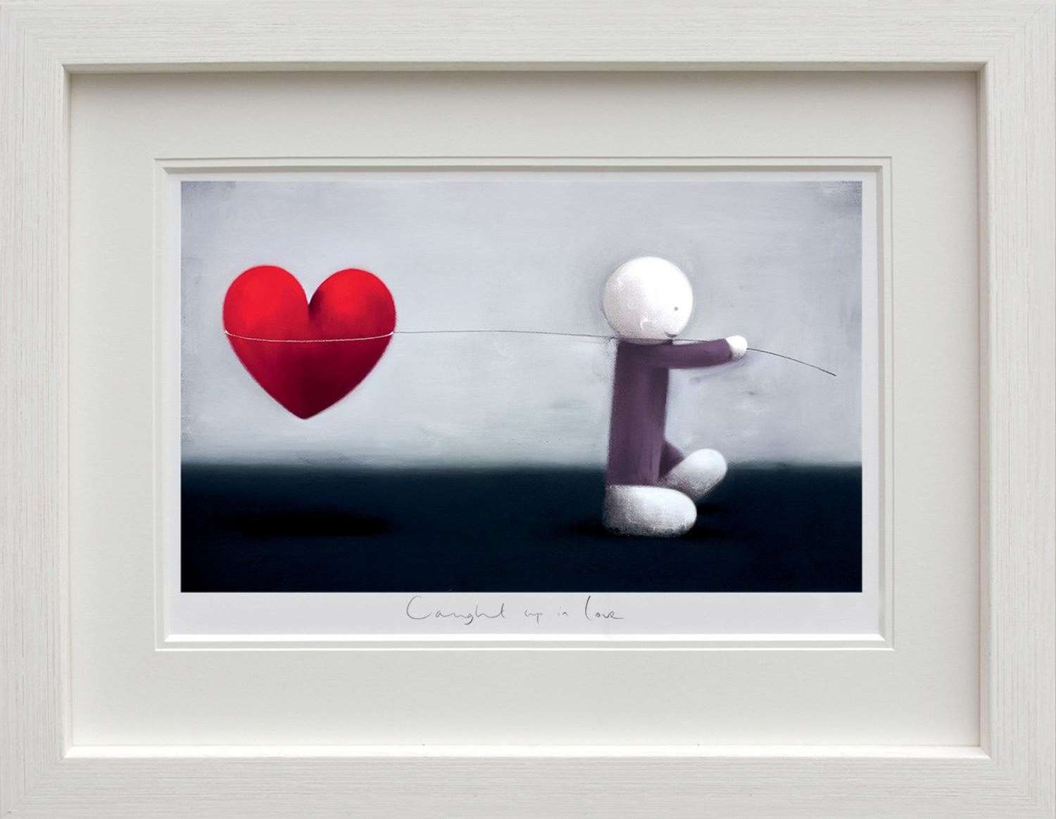 Caught Up In Love by Doug Hyde Framed Art Print
