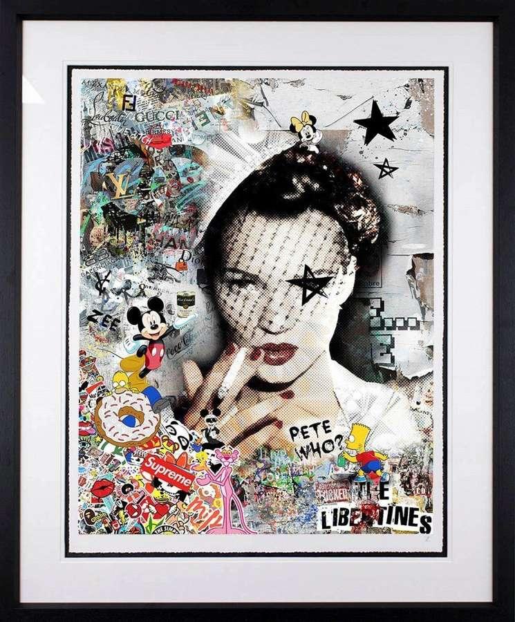 It's All Gucci by Artist Zee Framed Art Print