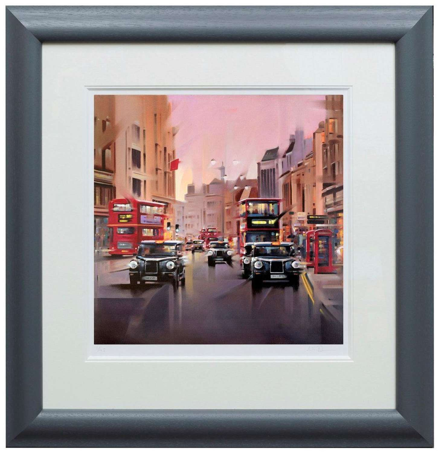 City Streets by Neil Dawson Framed Paper Art Print