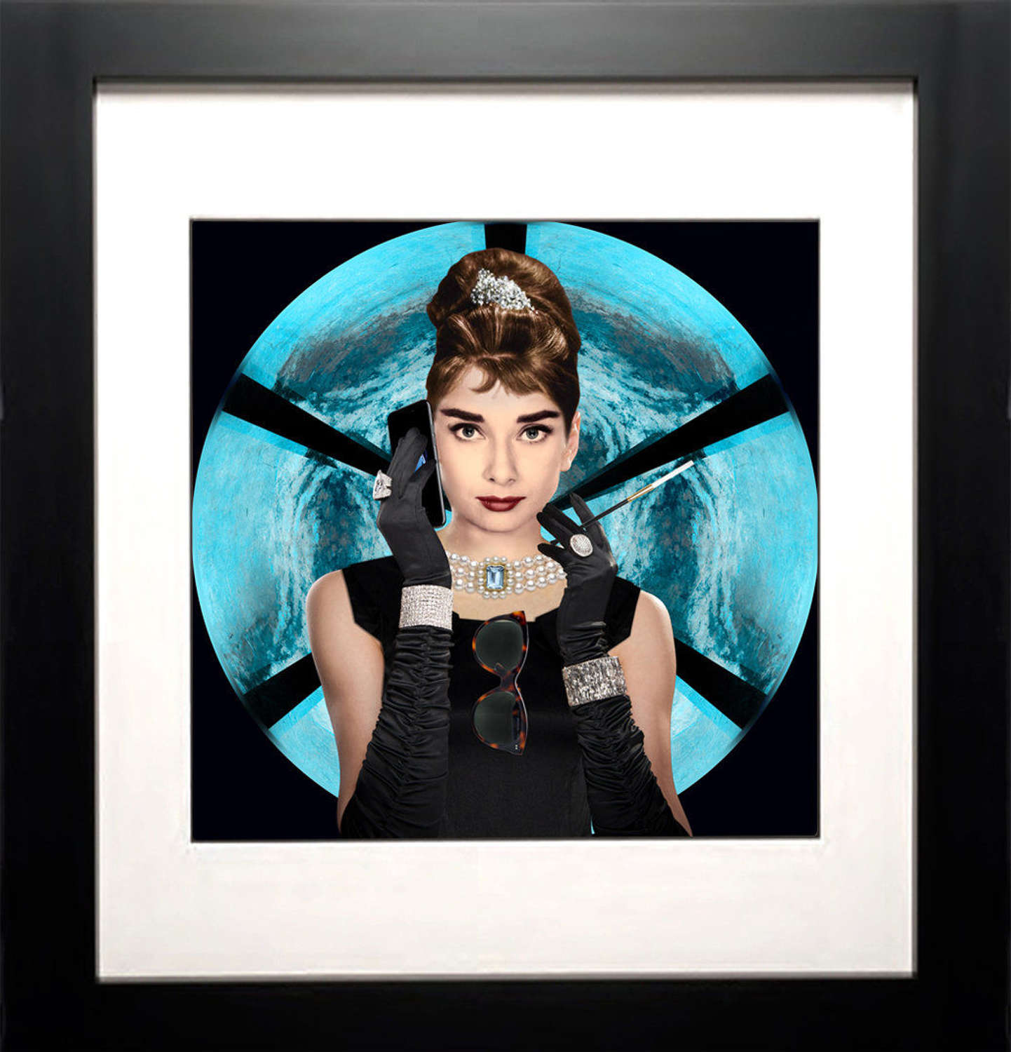 Tiffany Calling by Chloe Rox Framed Art Print by artist Chloe Rox