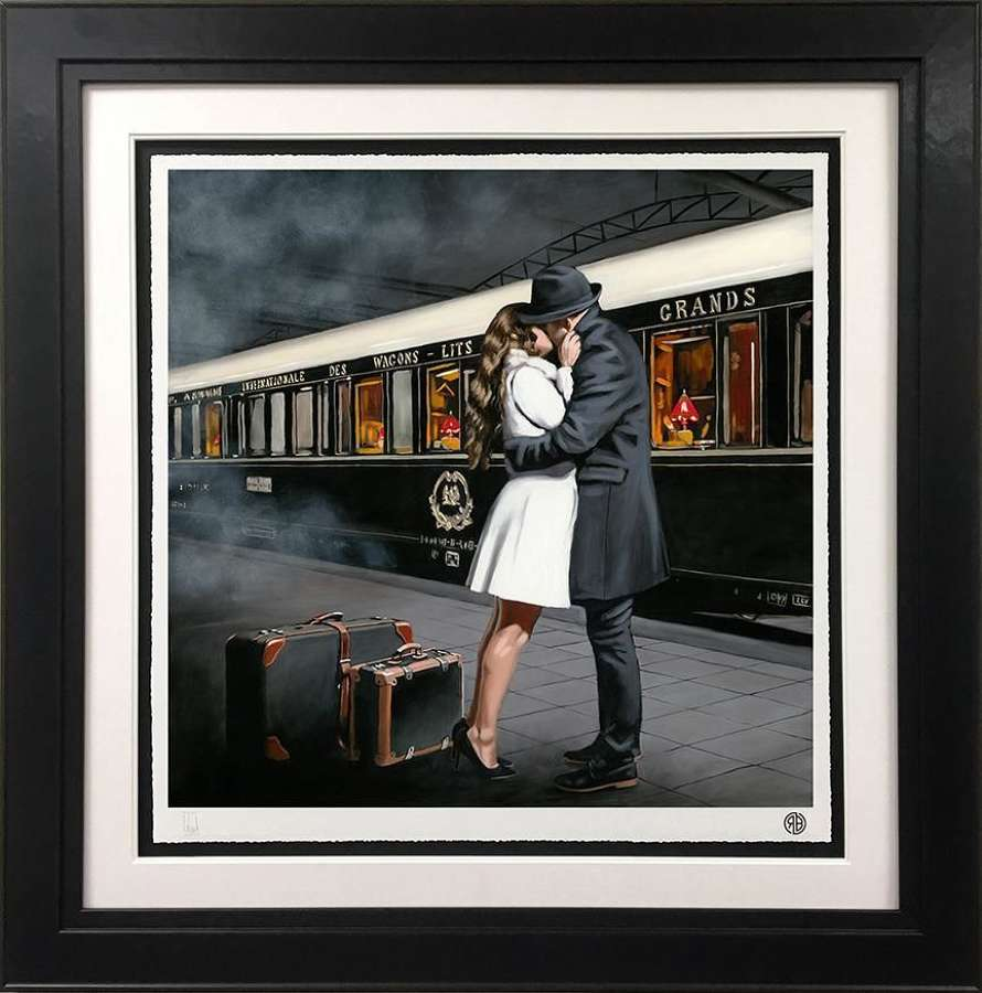 Always Back To You Framed Art Print by Richard Blunt