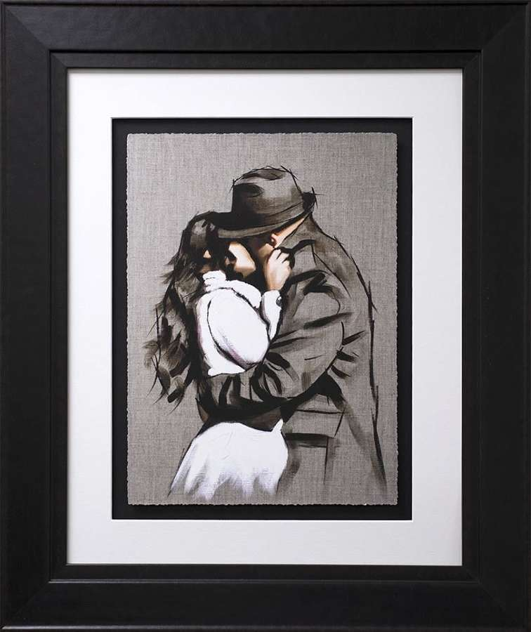Always Back To You - Study I Framed Art Print by Richard Blunt