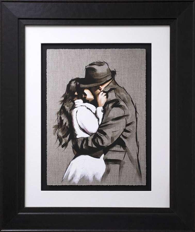 Always Back To You - Study I Framed Art Print by Richard Blunt