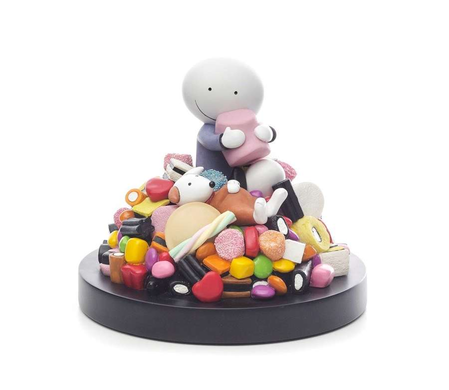 Life is Sweet by Doug Hyde Sculpture