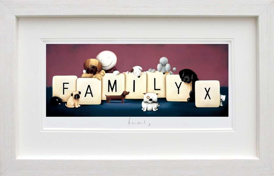 Family by Doug Hyde Framed Art Print