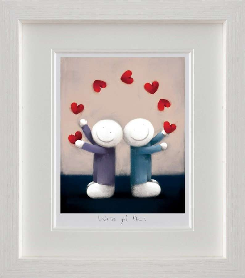 We've Got This by Doug Hyde Framed Art Print