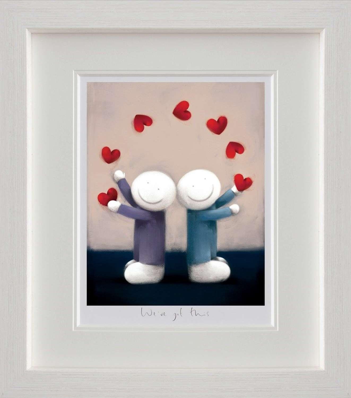 We've Got This by Doug Hyde Framed Art Print