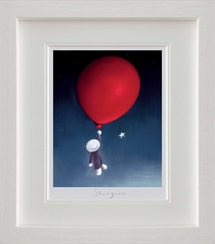 Star Gazer by Doug Hyde Framed Art Print