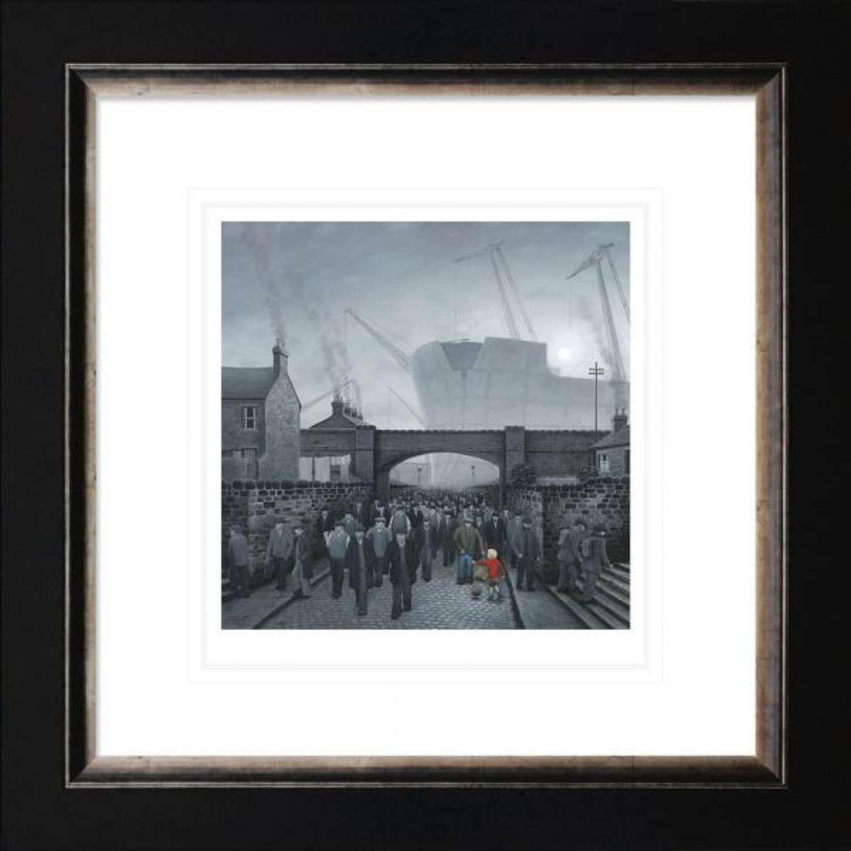 One In A Million- Framed Paper Art Print by Leigh Lambert