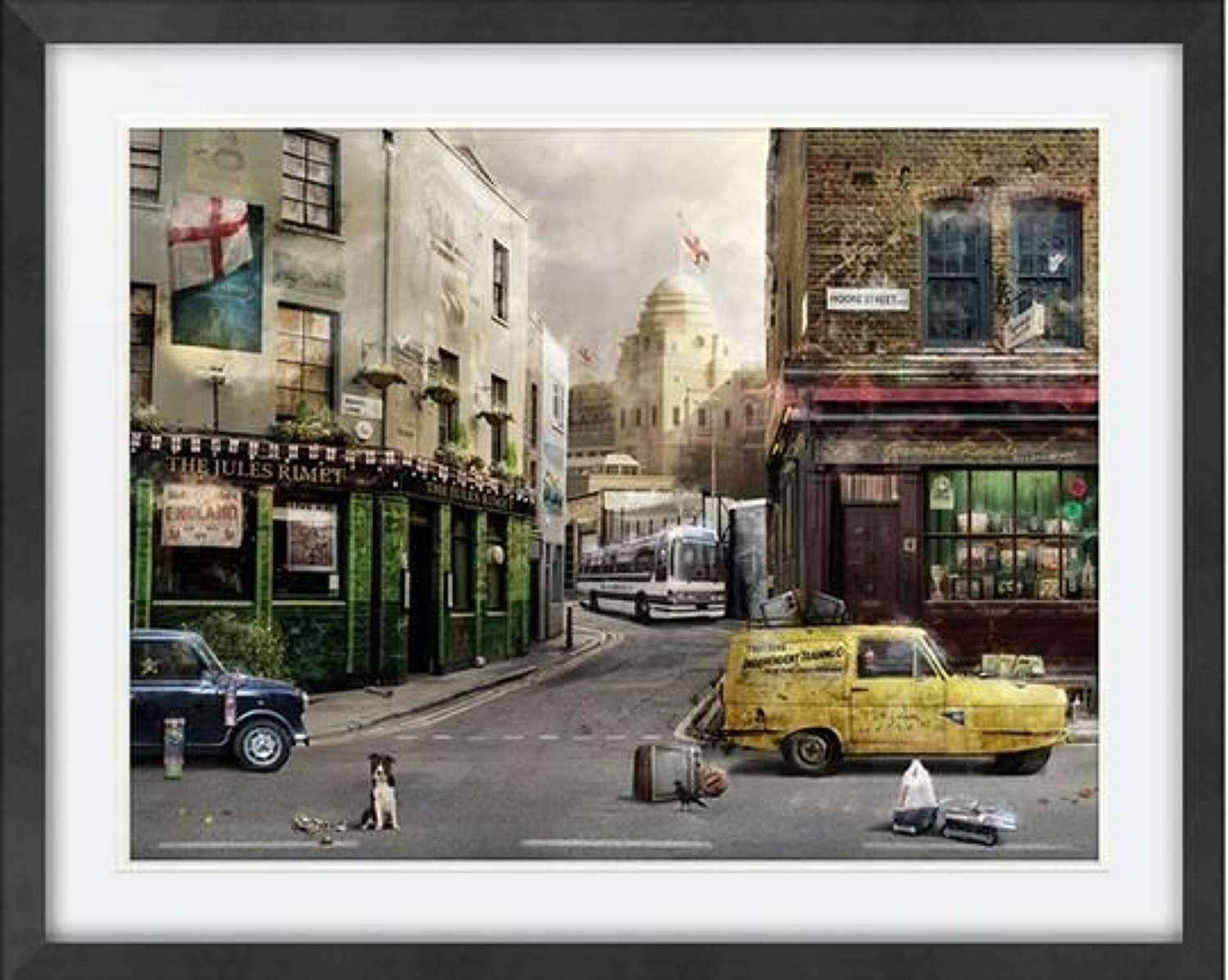 Up For The Cup - Framed Art Print by Mark Davies