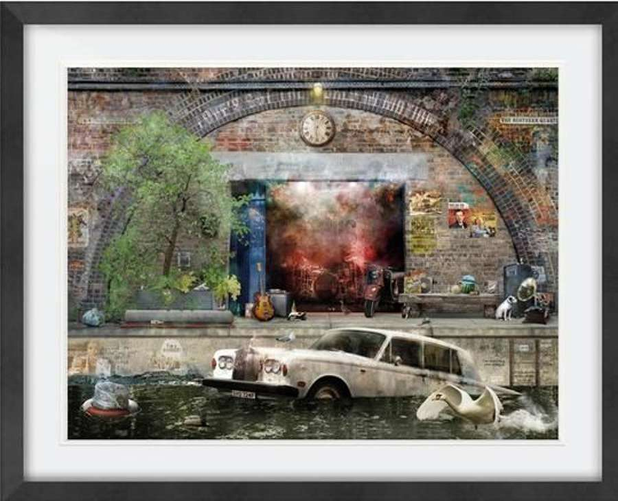 Mad For It - Framed Art Print by Mark Davies