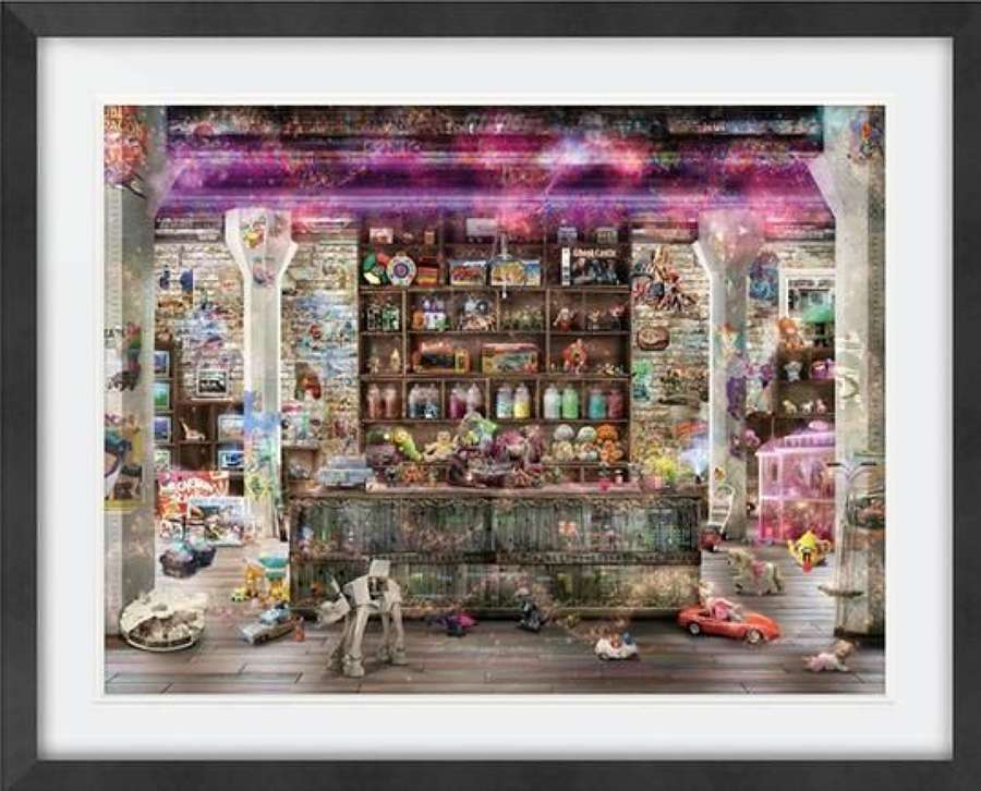 The Memory Remains II - Framed Art Print by Mark Davies