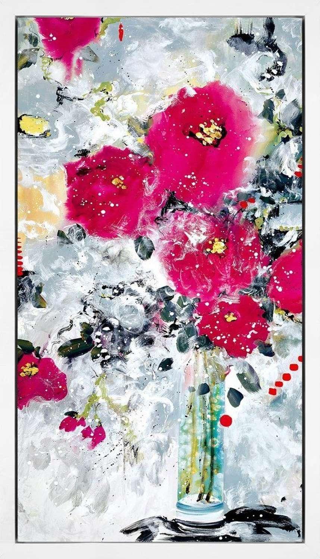 The Awakening Framed Canvas Art Print by Danielle O'Connor Akiyama