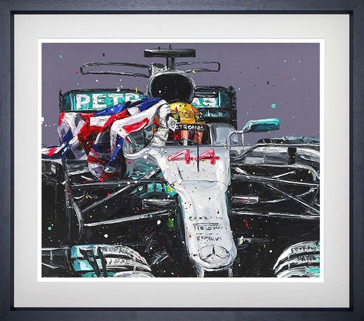 Lewis Mexico 17 Car - Framed Art Print by Paul Oz