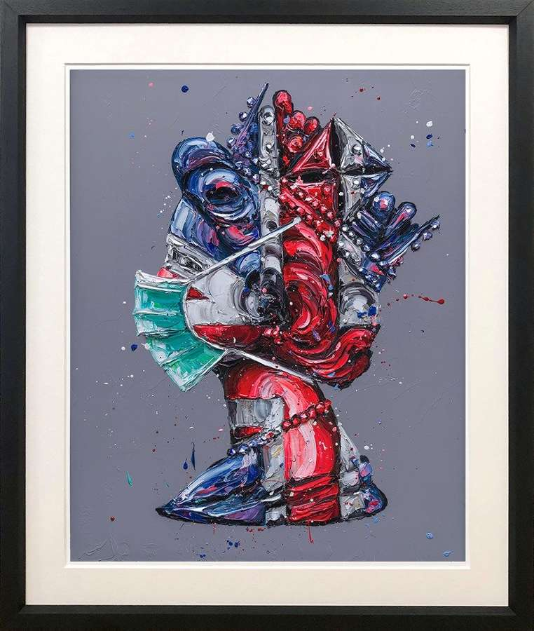 Corona-tion Queen Framed Art Print by Paul Oz