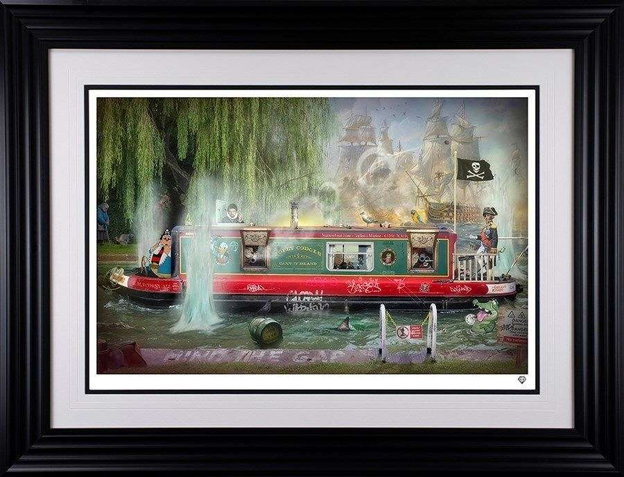 Wind in the Willows Framed Art Print by JJ Adams