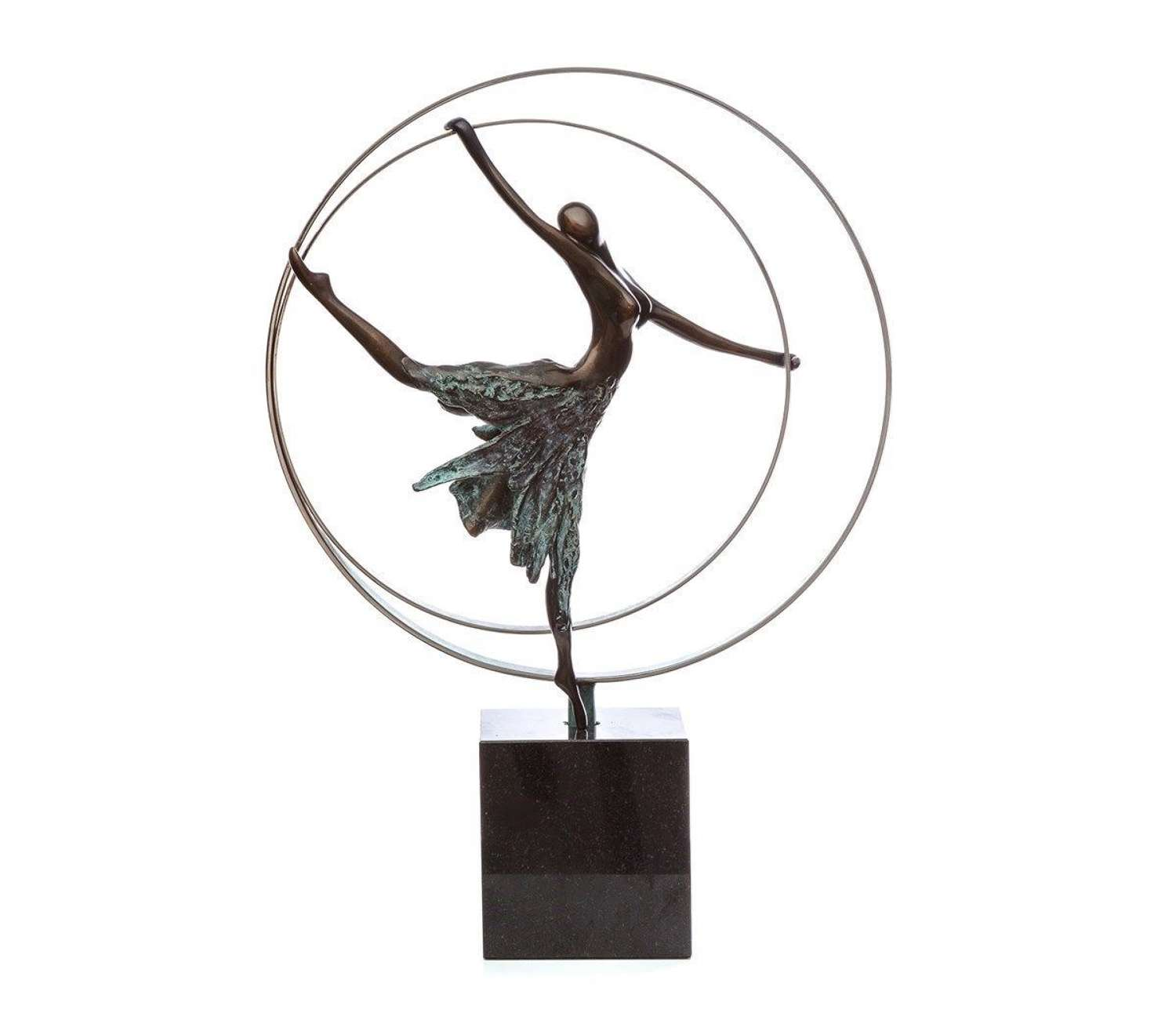 Elevation - Bronze Sculpture By Jennine Parker