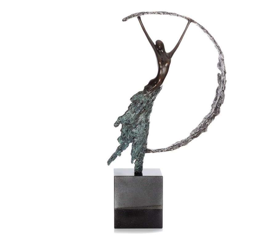 Moonlight - Bronze Sculpture By Jennine Parker