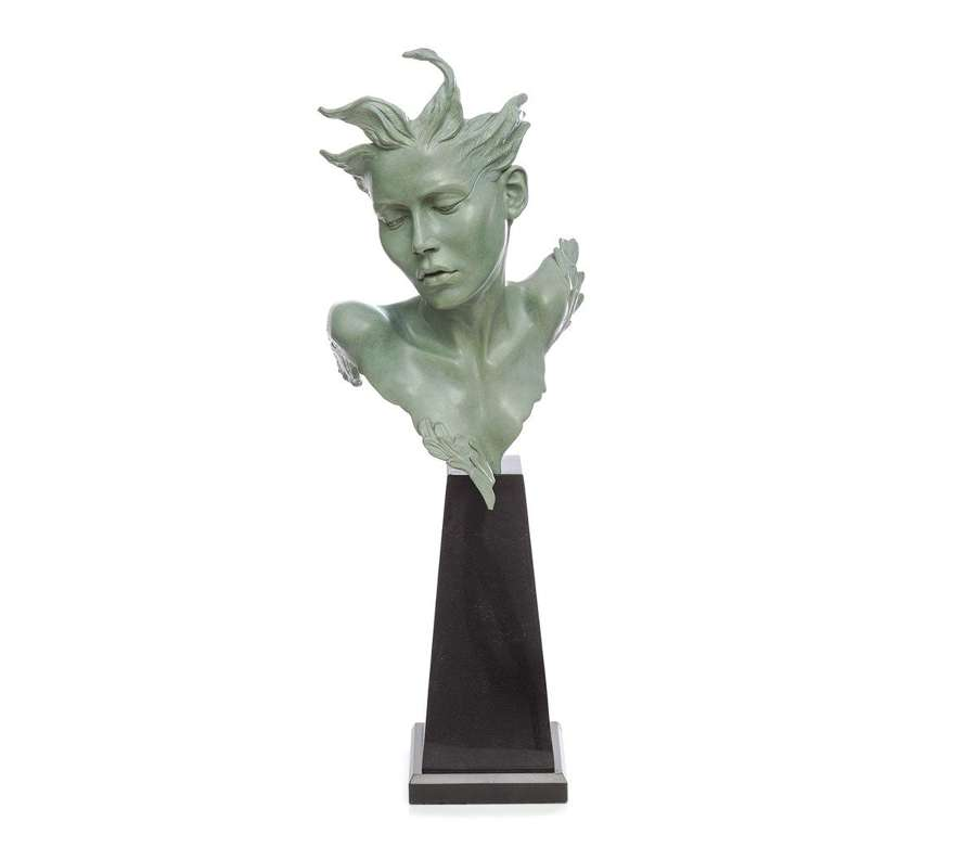 Odile - Solid Bronze Sculpture By Carl Payne