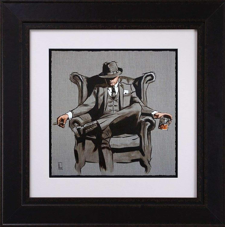 Self Made Man - Sketch - Art Print by Richard Blunt