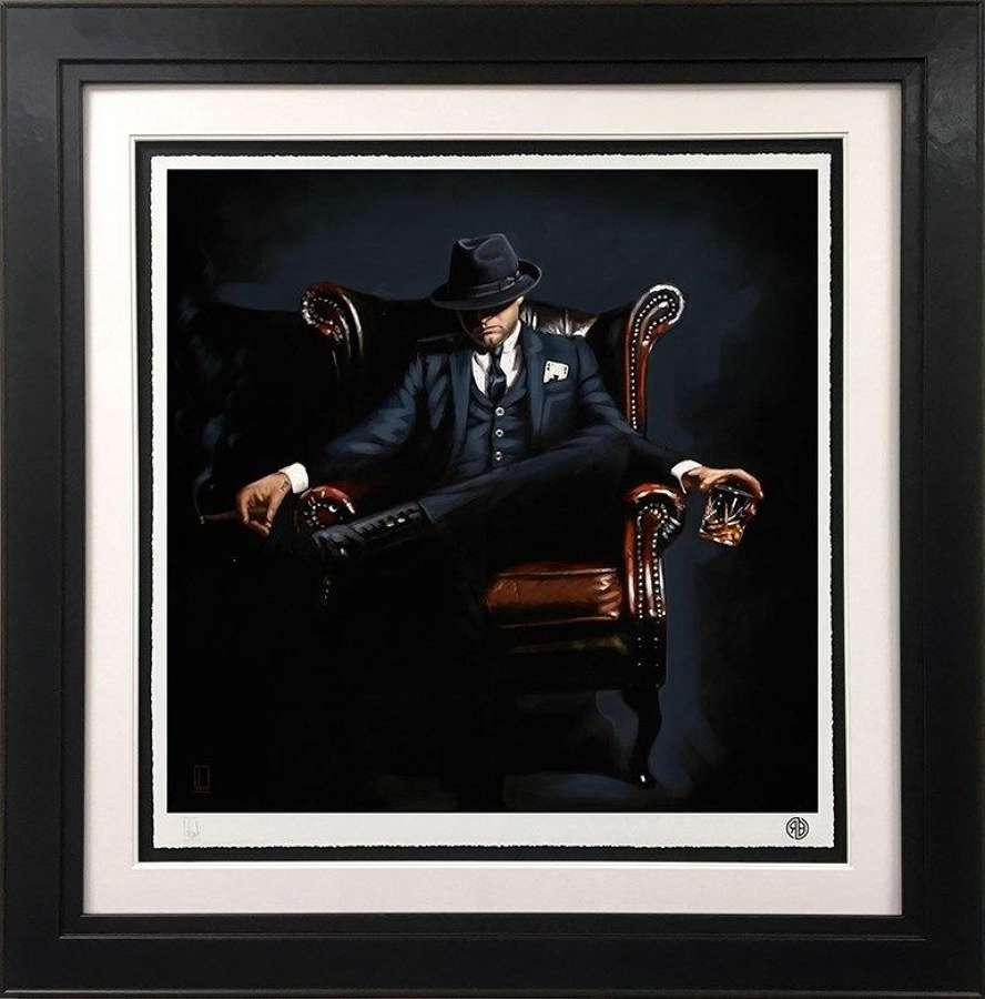 Self Made Man - Framed Art Print by Richard Blunt