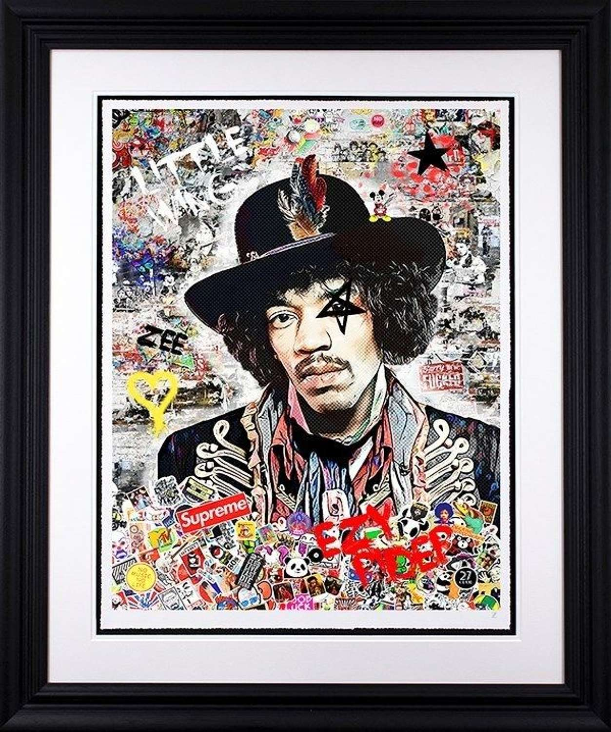 EZY Rider - Framed Art Print by Zee