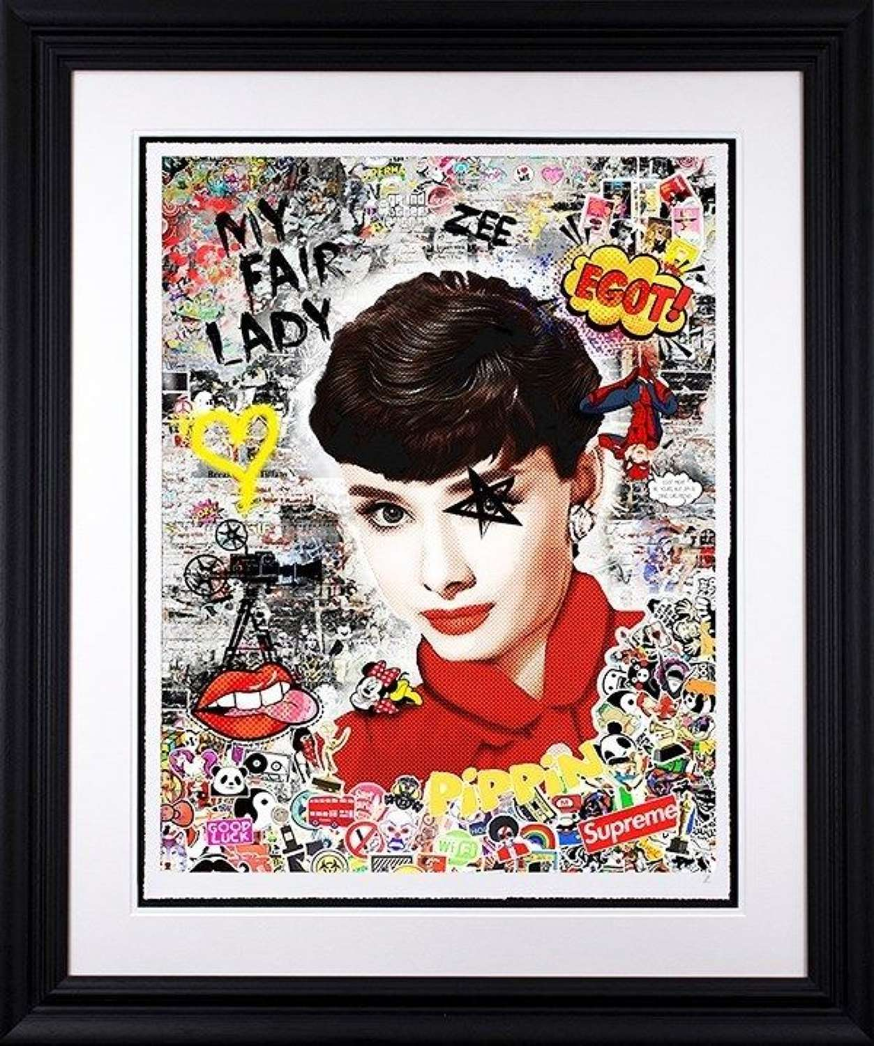 My Fair Lady - Framed Art Print by Zee