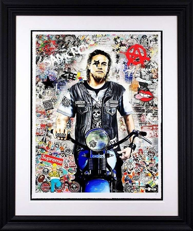 Anarchy - Framed Art Print by Zee
