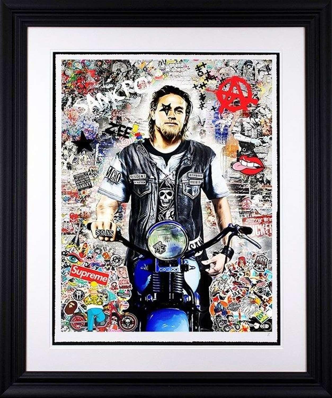 Anarchy - Framed Art Print by Zee