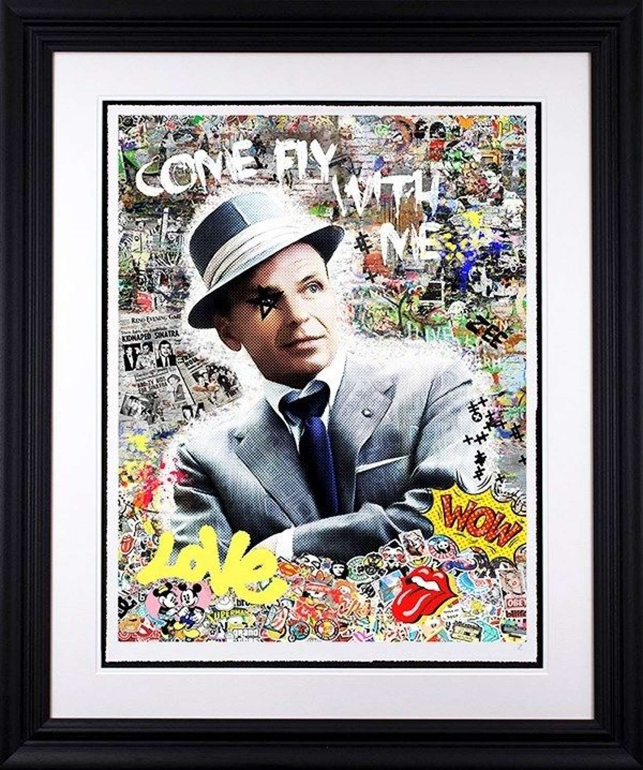Come Fly With Me - Framed Art Print by Zee