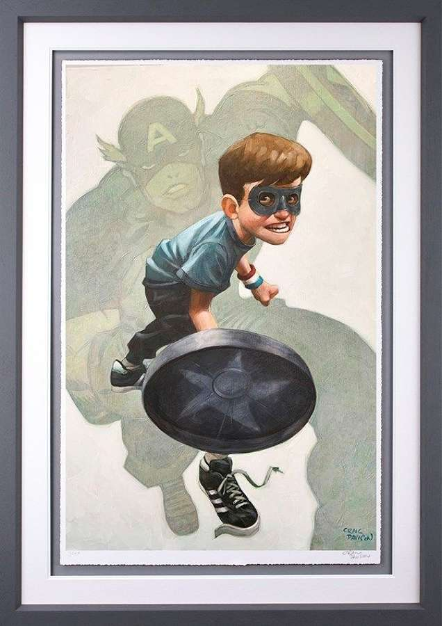 American Dream - Framed Art Print by Craig Davison