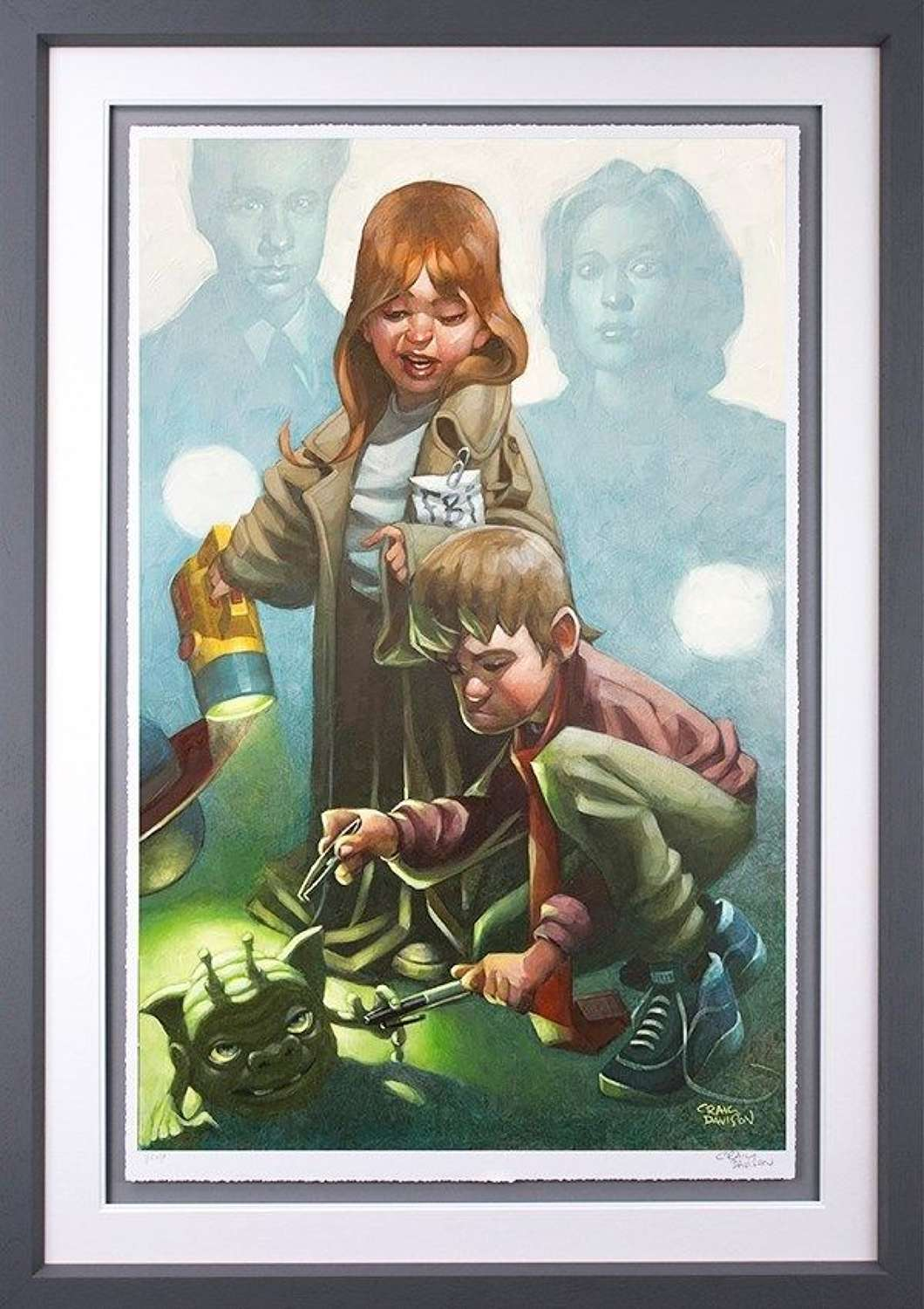 X-Factor - Framed Art Print by Craig Davison